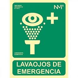 SEÑAL LAVAOJOS EMERGENCIA