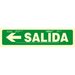 SEÑAL SALIDA + FLECHA IZQUIERDA