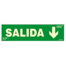 SEÑAL SALIDA + FECHA HACIA ABAJO