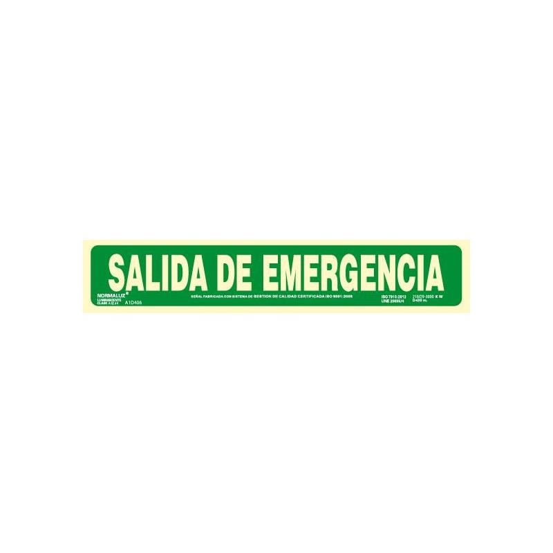 SEÑAL SALIDA EMERGENCIA