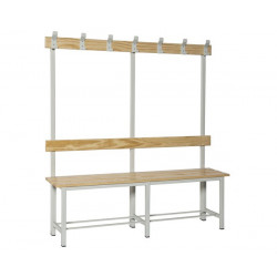 BANCO DE VESTUARIO MAS COLGADORES SINGLE BENCH