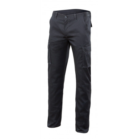PANTALON VELILLA STRETCH NEGRO