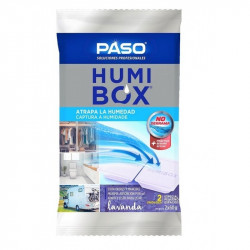 DESHUMIDIFICADOR PASO HUMIBOX LAVANDA 2X60G