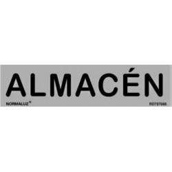 SEÑAL INFORMATIVA ALMACEN 200X50 MM
