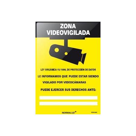 SEÑAL CAMARA VIGILADA