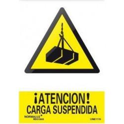 SEÑAL PELIGRO CARGA SUSPENDIDA