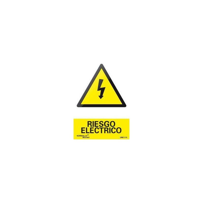 SEÑAL PELIGRO RIESGO ELECTRICO