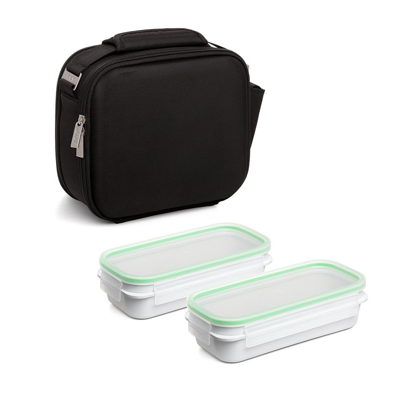 BOLSA NEVERA KIT URBAN FOOD SHELL NEGRO TATAY