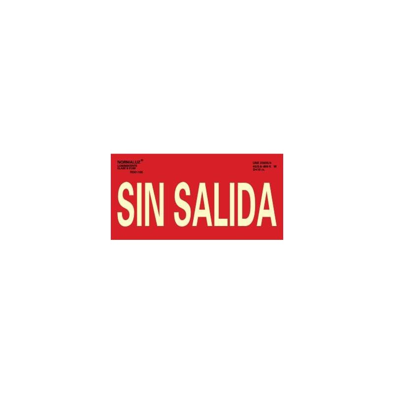 SEÑAL SIN SALIDA