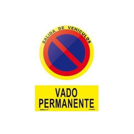 SEÑAL VADO PERMANENTE