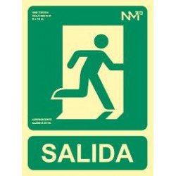 SEÑAL EVACUACION DERECHA SALIDA