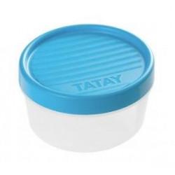 TAPER CON ROSCA 0,50 LITROS AZUL TATAY
