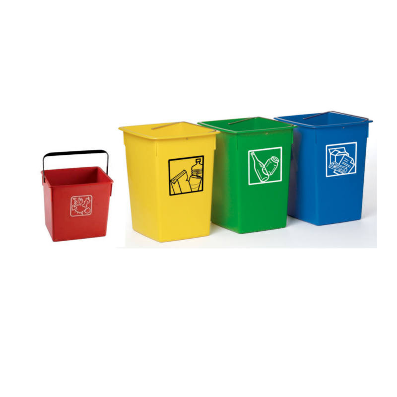 Cubo de Reciclaje para Papel 38 Litros