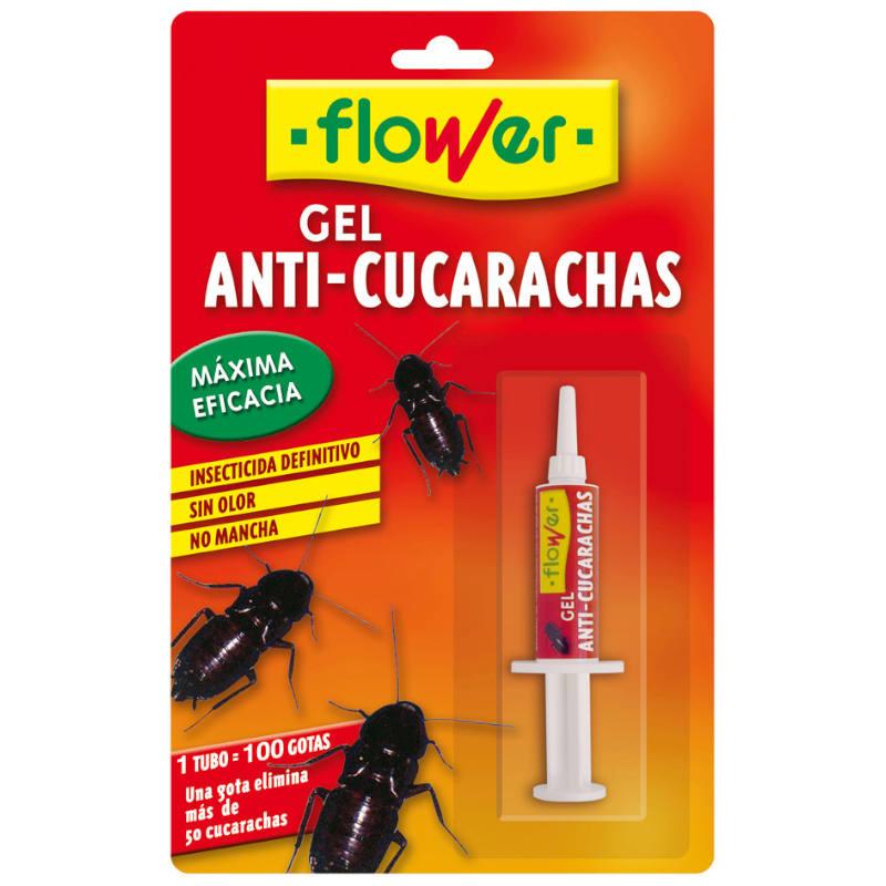 INSECTICIDA CEBO GEL CUCARACHAS FLOWER