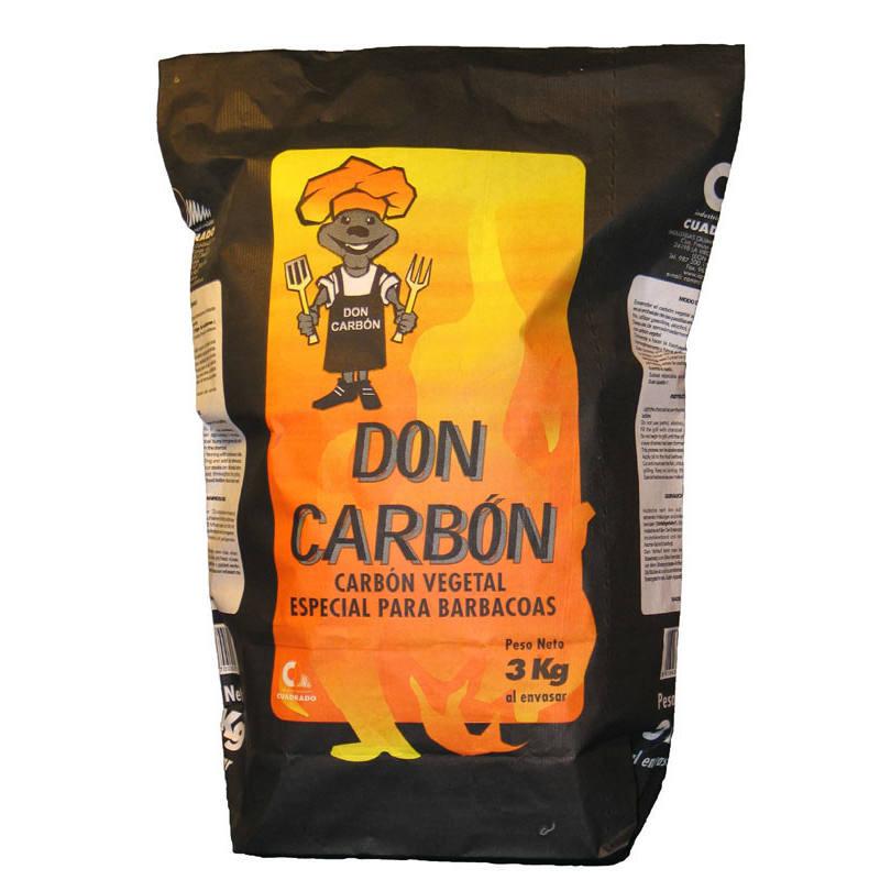 CARBON VEGETAL BARBARCOA 3 KG